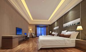 简约风格单身公寓式住宅装修效果图
