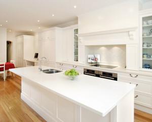 大户型别墅家居开放式厨房装修效果图