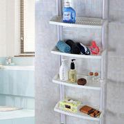 小户型浴室塑料多层置物架装修效果图