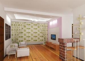 都市唯美的大户型室内吧台装修效果图