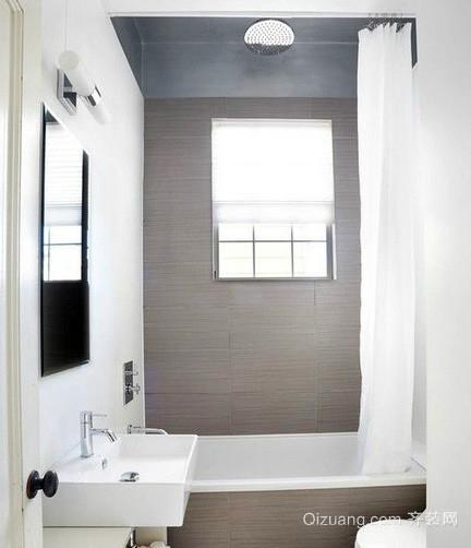 120平米日式小户型简约浴室装修效果图
