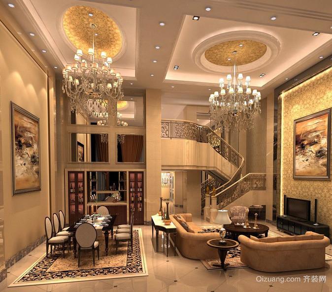 别墅宜家风格客厅装修效果图