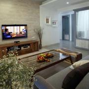 家装客厅电视背景墙