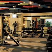 健身房简约风格器材装饰