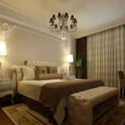精致的别墅型欧式卧室装修效果图