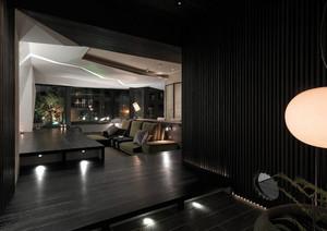 家装客厅墙面灯饰