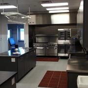 后现代风格饭店商用厨房设计效果图装饰