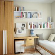宜家风格书房设计图片