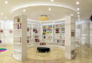 简约现代90平米儿童书店设计效果图