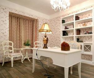 80平米韩式风格房屋装修效果图设计