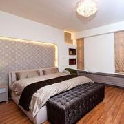 80平米简约风格卧室飘窗装饰