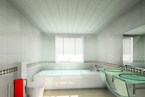 大户型韩式清雅型卫生洗手间效果图