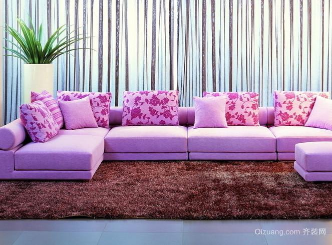 各式各样新颖客厅沙发装修效果图