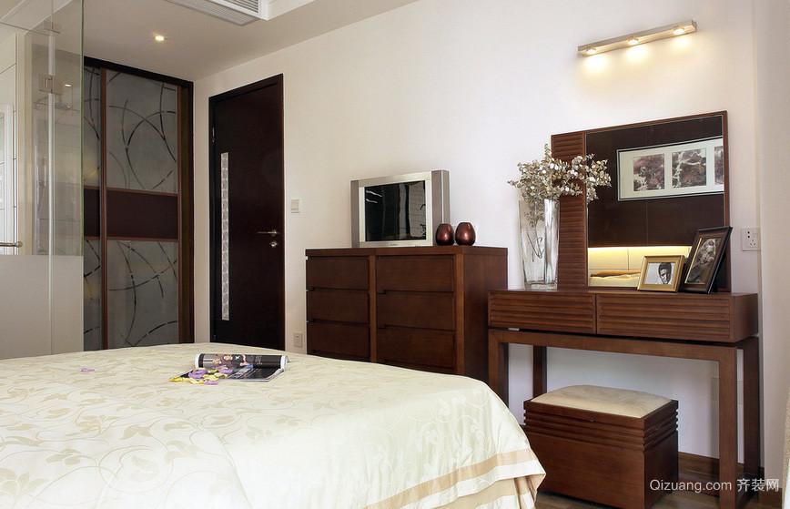 128平米时尚风格卧室装修效果图