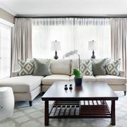 北欧风格简约沙发装饰