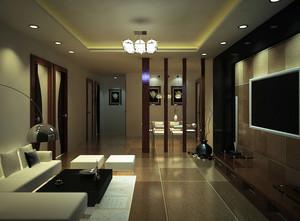 120平米宜家风格客厅装修效果图