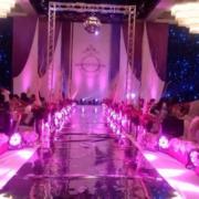 欧式大户型婚礼现场布置图片