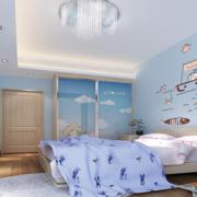 现代欧式大户型儿童房装修效果图实例