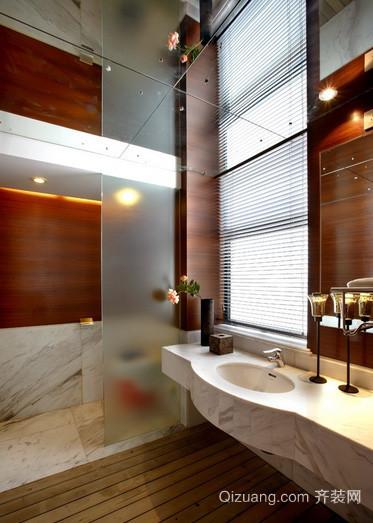 别墅东南亚风格卫生间家具装修效果图