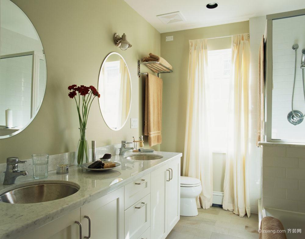 美式大户型美式风格卫生间装修效果图