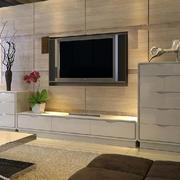 现代简约客厅电视组合柜装修效果图