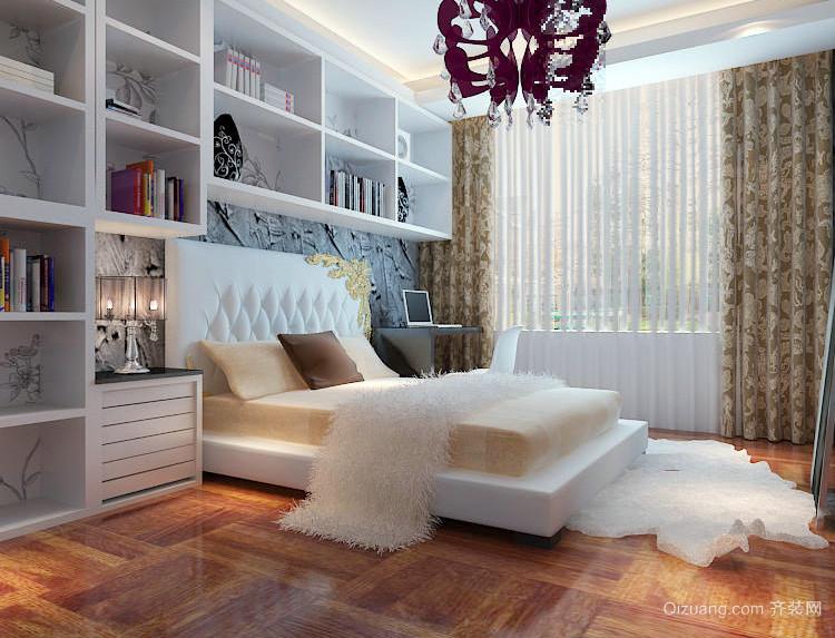 复式楼精心打造卧室装修效果图