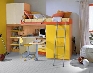 现代简约风格小户型儿童床装饰效果图