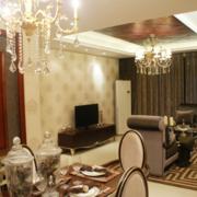 北欧风格大户型客厅装修效果图鉴赏