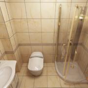 现代大户型欧式卫生间装修效果图鉴赏