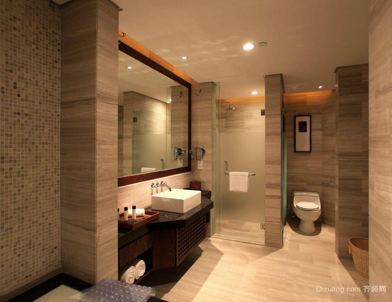 精美的小户型欧式卫生间装修效果图