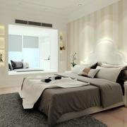 简约风格单身公寓床头柜装饰