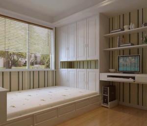 精致的日式卧室榻榻米装修效果图
