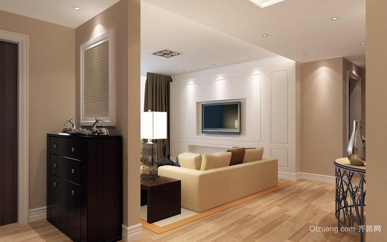 大户型雅致系列客厅装修效果图