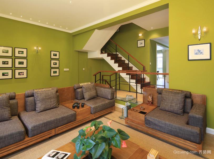 精美的现代大户型楼梯装修效果图实例