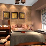 东南亚风格卧室家具装饰效果图