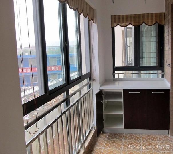10平米创意型阳台装修效果图
