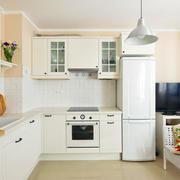 128平米中式风格厨房装修效果图