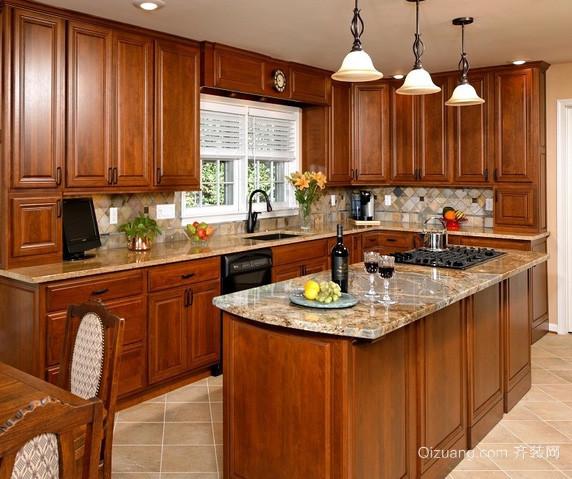 复式楼现代风格厨房装修效果图