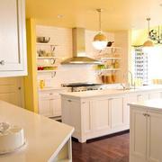 单身公寓创意型厨房装修效果图
