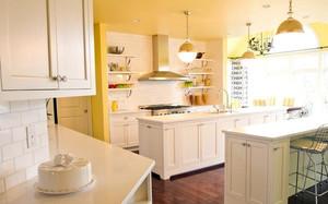 单身公寓创意型厨房足彩导航效果图