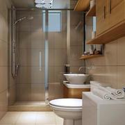 别墅清新系列卫生间装修效果图