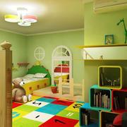 复式楼时尚风格儿童房设计装修效果图