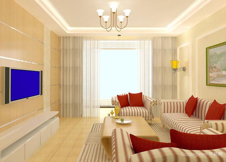 清新系列单身公寓式住宅装修效果图