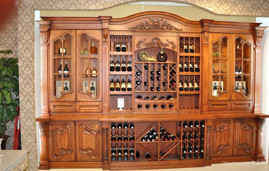 别墅浪漫系列酒柜效果图片