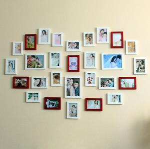 大户型简约系列照片墙设计效果图