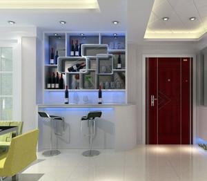单身公寓韩式风格酒柜效果图片