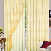 128平米隔音飘窗窗帘效果图