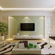 138平米创意型客厅电视背景墙效果图