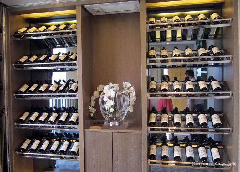 148平米欧式风格酒柜效果图片