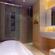 欧式简约风格卫生间瓷砖效果图